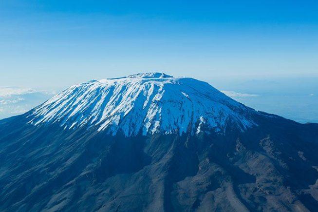 Kilimanjaro aerial