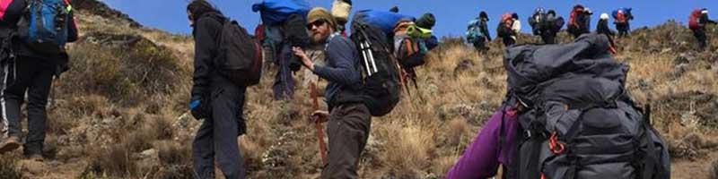Kilimanjaro luggage